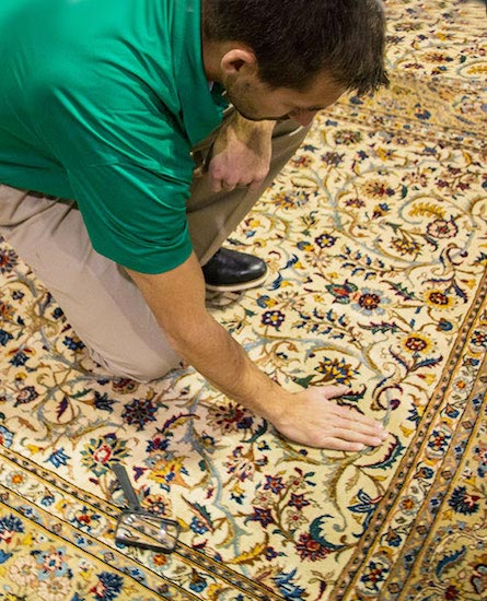 area rug cleaning expert